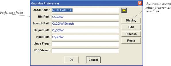 G09W: Preferences